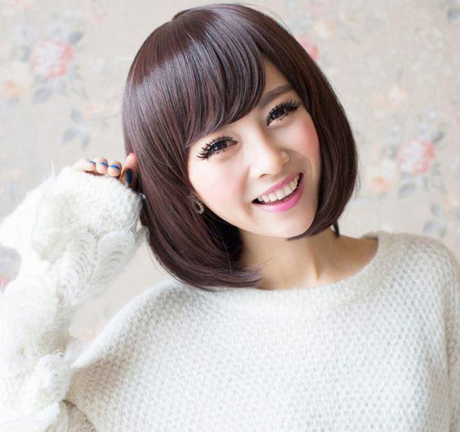 Gaya rambut short sweet